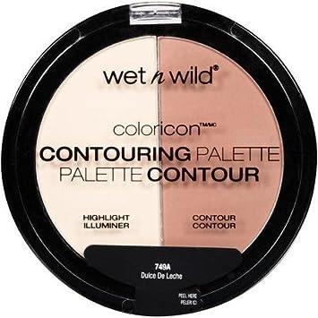 Amazon.com : Wet N Wild Color Icon Contouring Palette - 749a Dulce De Leche (Pack of 3) : Beauty