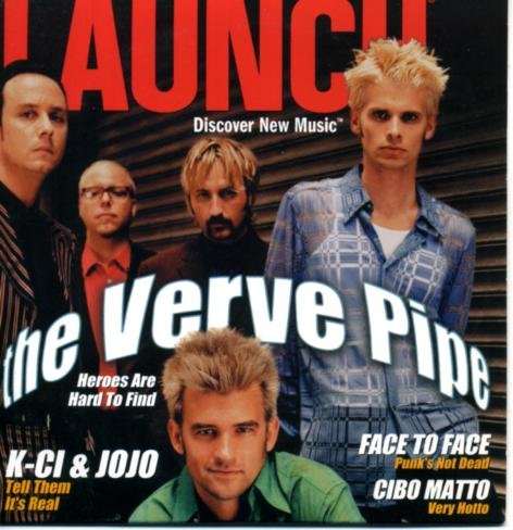 Launch CD-ROM Magazine #31 The Verve Pipe on Cover, Insane Clown Posse, Mary-Chapin Carpenter, Los Lobos, Destiny's Child, Cibo Matto, King Crimson in the Vault