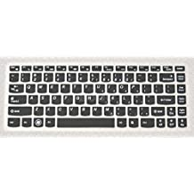 Bodu Silicone Keyboard Cover Protector Skin for Lenovo B40 B43 B4309 B4400 B470 B475 B475E B480 B490 M490 M495 SR1000 Lenovo G360 G40 G400 G400S G405 G405S G410 G410ST G470 G475 G480 G485 G490(Black)