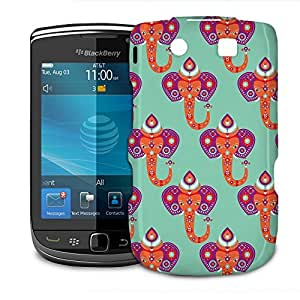 Phone Case For BlackBerry Torch 9800 9810 - Oriental Elephant India Designer Slim by lolosakes