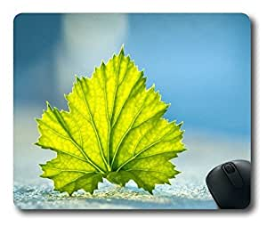 Maple Leaf Easter Thanksgiving Personlized Masterpiece Limited Design Oblong Mouse Pad by Cases & Mousepads
