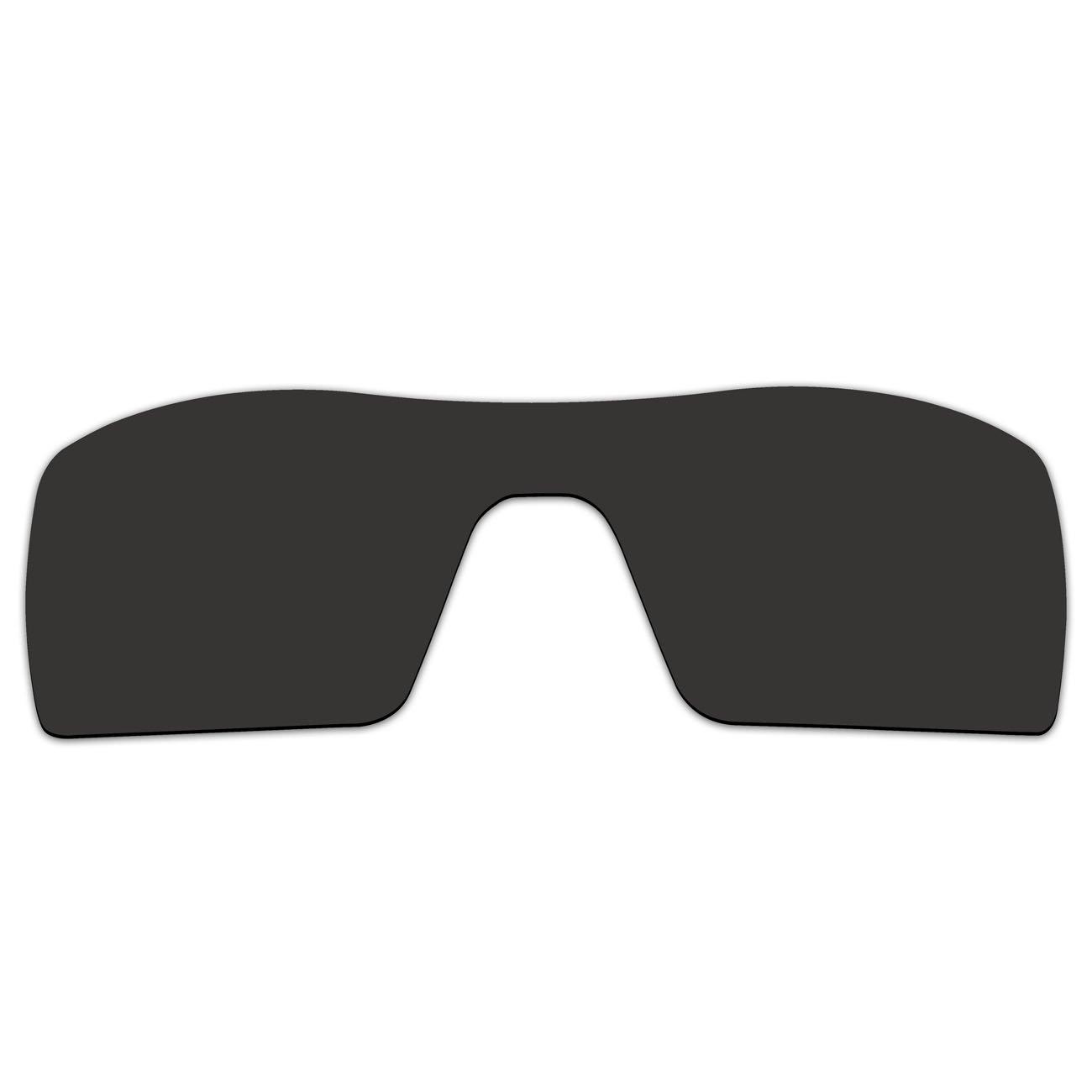 48267b47f6 Amazon.com   ACOMPATIBLE Replacement Lenses Oakley Oil Rig II Sunglasses Gen  2 (Black - Polarized)   Sports   Outdoors