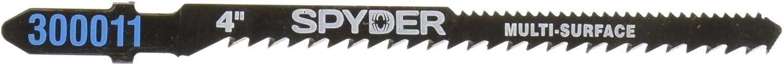 Spyder 300004 4-Inch Jigsaw Blade Double Sided 2-Piece