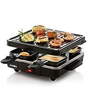 Domo DO9147G raclette, gjutjärn, svart