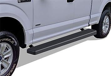 """FOR 2015-2019 F150 Super Cab 6/"""" Running Boards Side Steps Nerf Bars BLACK"""