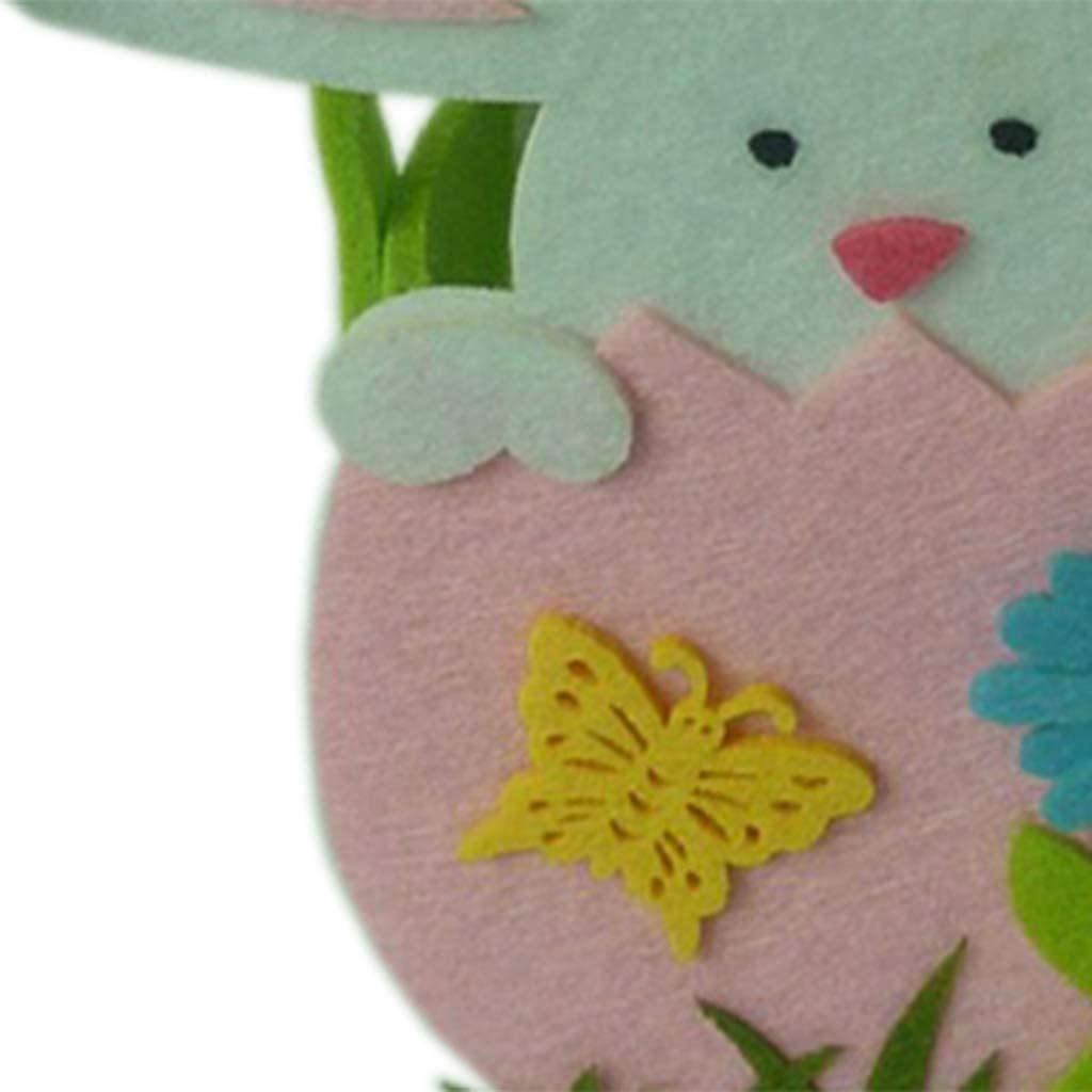 Baoblaze 3pcs Creativas Cestas de Dulces Bolsas de Huevo de Pascua Regalo para Ni/ños