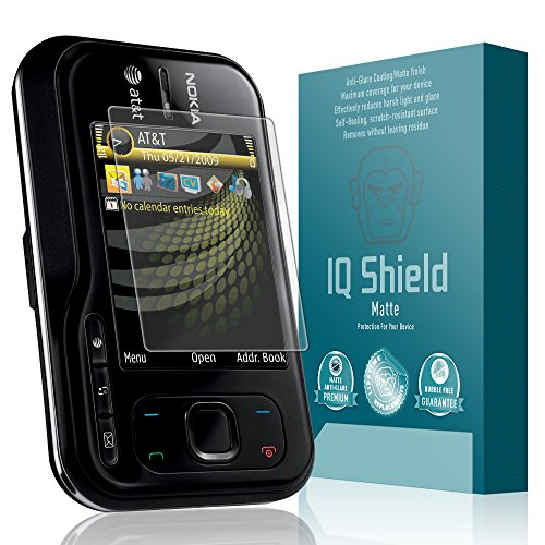 IQ Shield Matte Full Coverage Anti-Glare Screen Protector for Nokia 6790 Surge Anti-Bubble Film