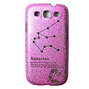 Samsung Galaxy S3 i9300 phone shell by Benwis, Galaxy S3 Pink Zodiac series protective shell (Aquarius)