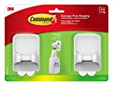 Tools & Hardware : Command Spray Bottle Hangers Value Pack, 2-Hangers, 4-Large Strips (17009-HW2ES)
