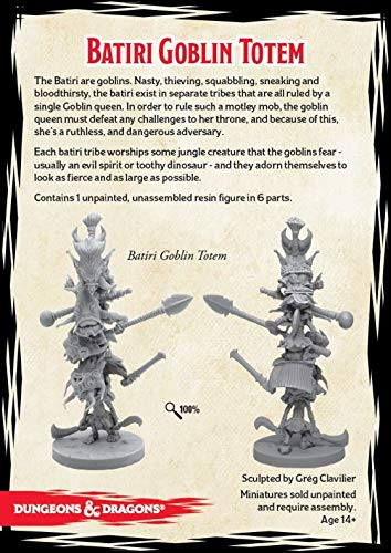 Gale Force Nine Dungeons & Dragons - Tomb of Annihilation Batiri Goblin  Totem