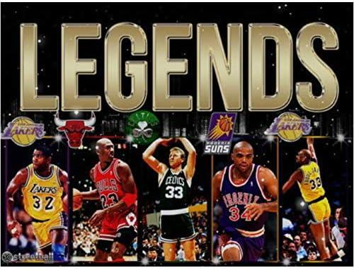 DPFRY Cuadros De La Lona Charles Wade Barkley Baloncesto NBA MVP ...