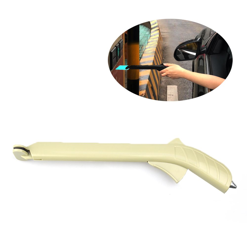 Vehicle Safety Tools, Escape Hammer, High-Speed Card, Two In One Vehicle Tools, Suitable For Frequent High-Speed Up And Down,Beige