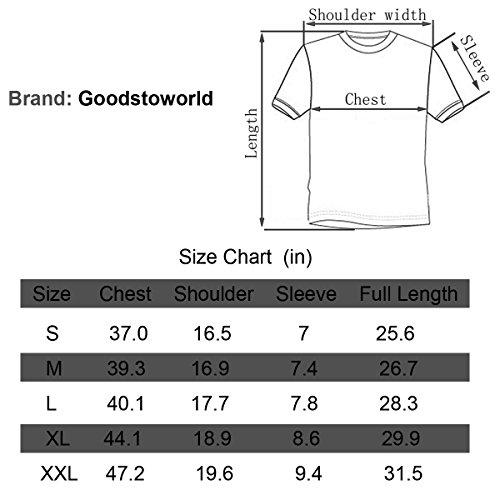 Di Goodstoworld Estate Unisex Manica Shirt T Maglietta Birra Stampa S Carnevale Casuale Corta 3d xxl rrfOqX