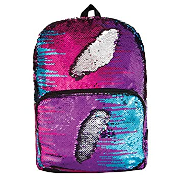 Style.Lab Fashion Angels Magic Sequin Backpack – Multi Silver