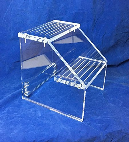 2-Step Clear Acrylic Lucite Step Stool 51C-JBpP77L