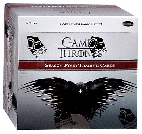 Cards Box Trading Season 4 - Game of Thrones Season 4 Factory Sealed Box of 24 Trading Card Packs