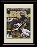 Framed Drew Brees Sports Illustrated Autograph Replica Print - Who Dat!