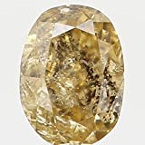 Natural Loose Diamond Oval Yellow Color I2 Clarity 3.30X2.40X1.70 MM 0.11 Ct L5509