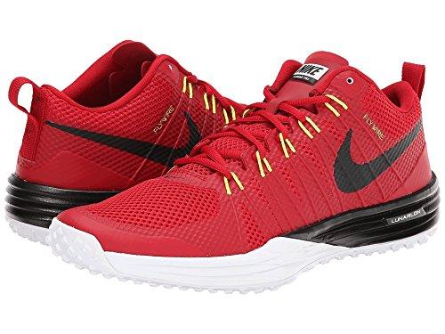 Nike Mens Lunar Tr 1 Träningsskor Storlek 6 - Gym Röd / Svart / Vit / Volt