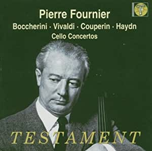Pierre Fournier plays...