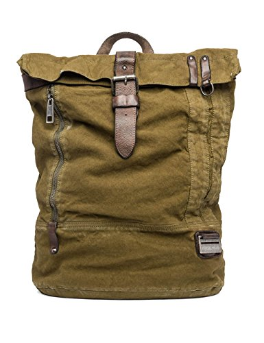 Replay Men's Men's Khaki Backpack Green by Replay