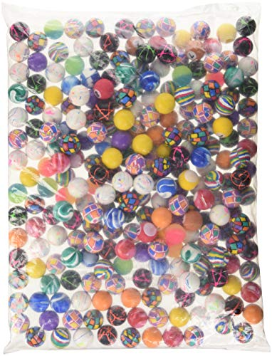 Rhode Island Novelty Assorted Super Bouncy Balls (250 Count), 27mm