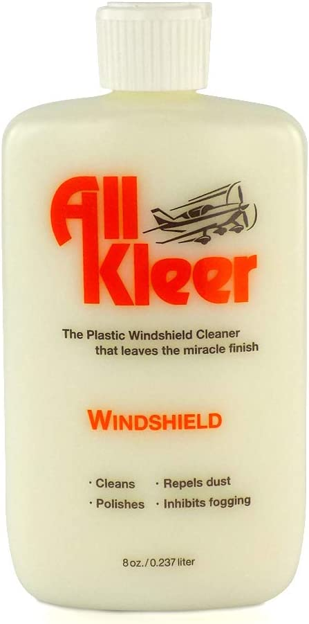 所有Kleer高级塑料抛光和清洁剂