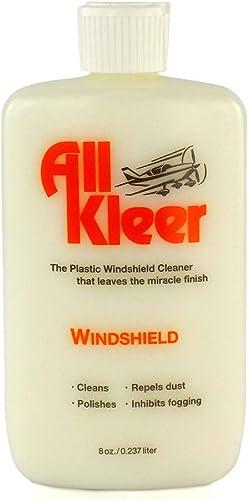 All Kleer 8oz Premium Plastic Polish & Cleaner