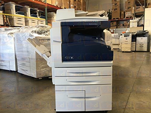 5 Tabloid-size Mono Laser Multifunction Copier - 45 ppm, Copy, Print, Scan, 2 Trays, High-Capacity Tandem Tray ()