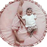 Leegor Baby Infant Creeping Mat Cartoon Playmat Blanket Play Game Mat Room Decoration Photography Props (H)