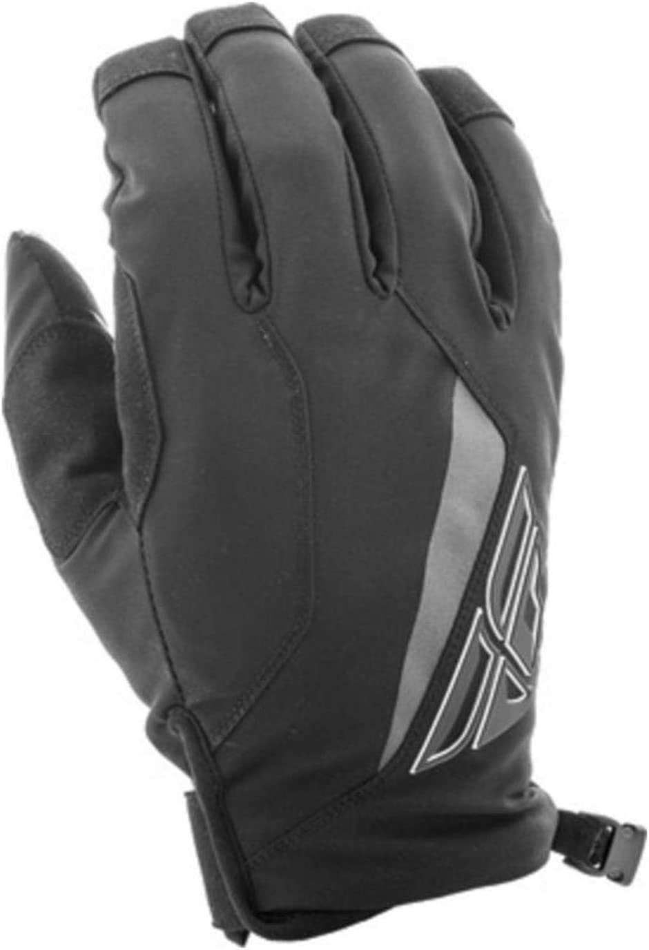 Fly Racing Mens Gloves Black, Size 10