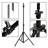 #8: xnicx Wig Mannequin Tripod Holder Adjustable Canvas Block Head Stand with Carry Bag for Trainging Cosmetology Hairdressing