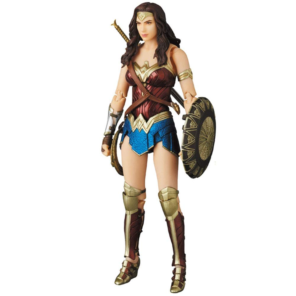 Wen Zhe Filmversion Justice League Wonder Woman MAFEX 048 bewegliche Boxhand 18cm Spielmodell