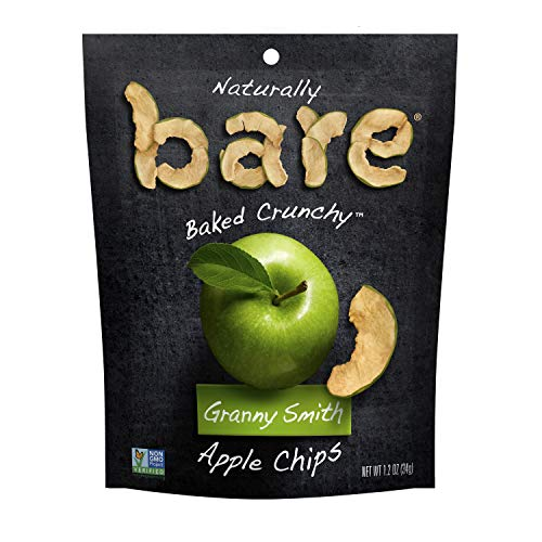 Bare Baked Crunchy Apple Chips, Granny Smith, Gluten Free, 1.7 Ounce Bag, 6 Count ()