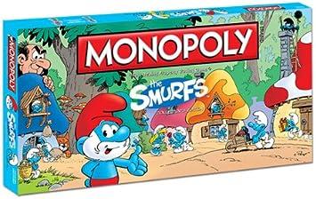 MONOPOLY: LOS PITUFOS - EDICIÓN COLECCIONISTA [Reino Unido]: Amazon.es: Juguetes y juegos