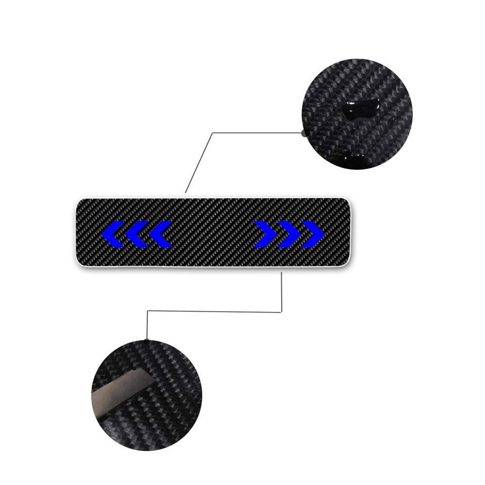 Pegatinas protectoras para puerta de coche de fibra de carbono Mustang Mondeo B-max C-MAX
