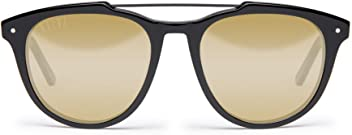 10103a3142 9Five Cues Glossy Black W  Gold Lens