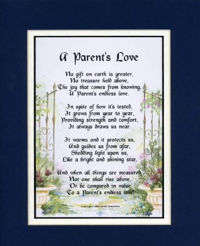 A Gift Present Poem for a Parent. #137, (A Parent's Love)