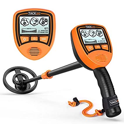 TACKLIFE Metal Detector, MMD03 Junior Metal Detector for Kids with Large Back-lit LCD