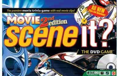 Scene It? DVD Game - Movies 2nd Edition