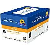 Hammermill Paper, Fore MP Paper, 20lb, 8.5 x 11, 3 Hole Punch, 96 Bright, 5000 Sheets / 10 Ream Case (103275C), Made In The USA