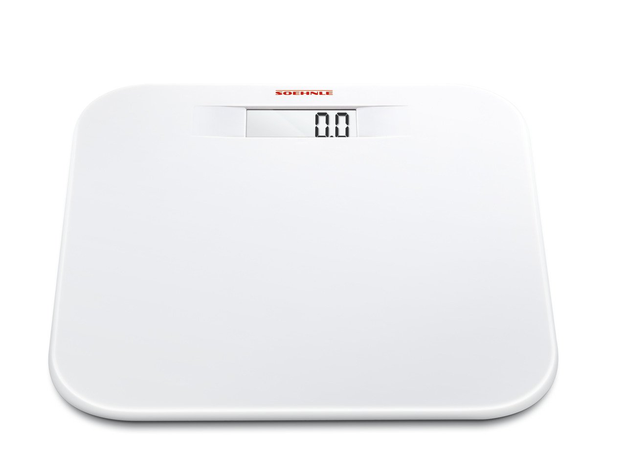 Amazon.com: Soehnle Soft Comfort Personal Scale, Digital, LCD-Digits, Safety Glass, 150 kg, 63331: Health & Personal Care