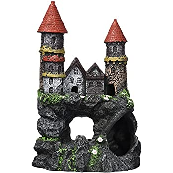 Penn-Plax Enchanted Castle-Med