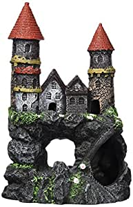 Penn-Plax Enchanted Castle-Med