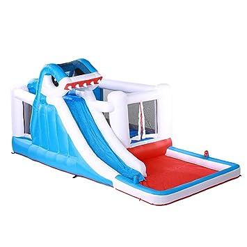 Trampolín Inicio Parque acuático para niños Al aire libre ...
