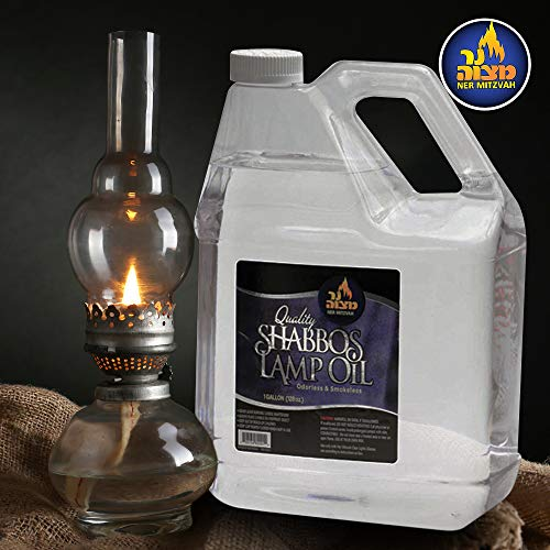 1 Gallon Paraffin Lamp Oil - Clear Smokeless, Odorless, Clean Burning Fuel for Indoor and Outdoor Use - Shabbos Lamp Oil, by Ner Mitzvah by Ner Mitzvah (Image #4)