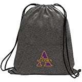 Promoversity NCAA Alcorn State Braves Adult Sweatshirt Cinch Bag,17.75'' x 14.5'',Dark Heather