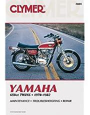 Clymer Yamaha 650cc Twins 1970-1982: Maintenance, Troubleshooting, Repair