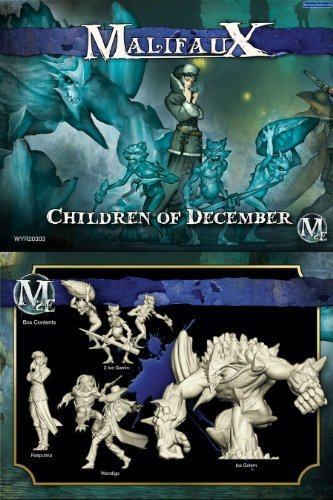 Arcanists: Rasputina Crew Box Set - Children of December by Wyrd Miniatures by Wyrd Miniatures (Image #1)