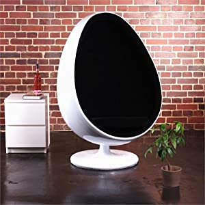 Retro eero aarnio design bowl stool space age egg chair for Retro space fabric uk